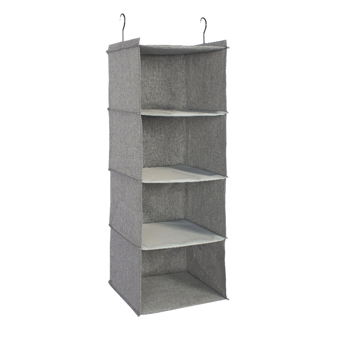 Hanging Closet Shelves Clothes Organizer with Enhanced Material for Durable Use - Caroeas