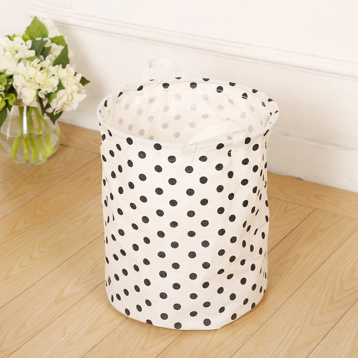 Collapsible Laundry Hamper Waterproof Design with Handles for Easy Transportation - Caroeas