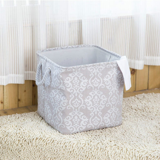 American Style Storage Basket Foldable Closet Organizer Firm Toy Storage Bag - Caroeas