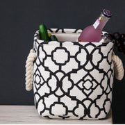 American Pattern Modern Hamper Collapsible Clothes Baskets Sturdy Laundry Bag