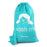 Laundry Bag with Strap Thicken Fabric Drawstring travel dirty clothes bag (Boy&Girl) - Caroeas