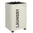 Laundry Hamper with Lid Pro+ Laundry Basket Waterproof with Breathable Cover(White) - Caroeas