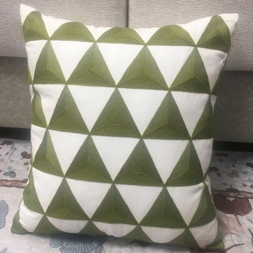 Geometric Farmhouse Throw Pillow Covers Vivid Patterns to Refresh Your Home - Caroeas