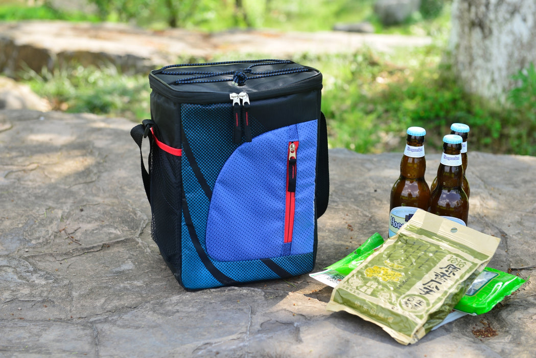 Cooler Bag Picnic Insulated Portable Lightweight Design with Backpack Strap for Easy Transportation - Caroeas