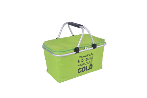 Cooler Bag Large Tote Grip Handles Effective Thermal Insulation Sturdy Aluminum Frame - Caroeas