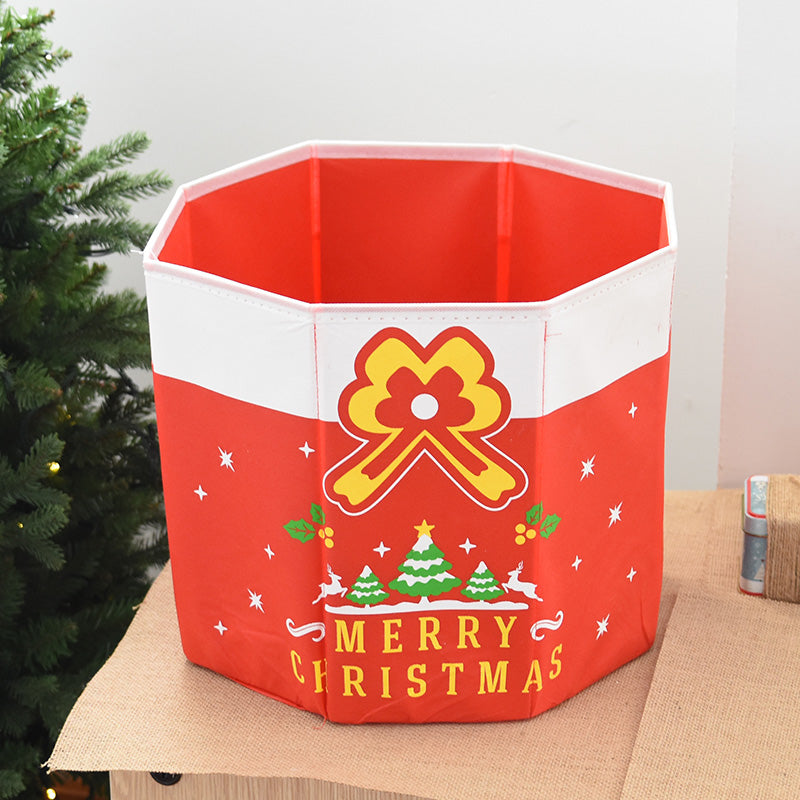 Christmas Tree Storage Folding for Space Saving with Sturdy Material 13.8'' - Caroeas