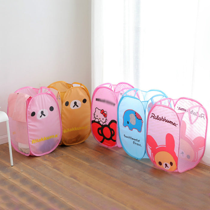 Large Laundry Bags Quick Pops Open Suitable for Dorm with Lovely Pattern - Caroeas