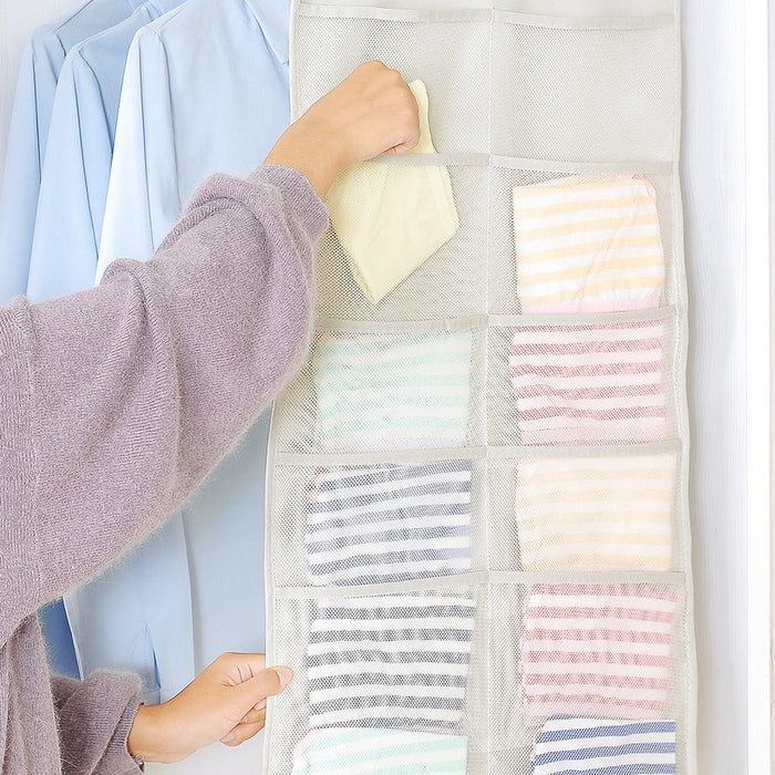Underwear Hanging Corner Shelves for Closet to Save More Space - Caroeas
