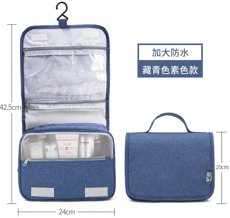 Makeup Organizer Bag Travel Hanging Classy Design Dustproof Large Capacity 2 Sizes Available - Caroeas