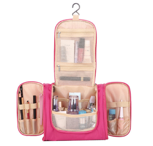Hanging Makeup Organizer Large Capacity with Multiple Function 6 Colors - Caroeas