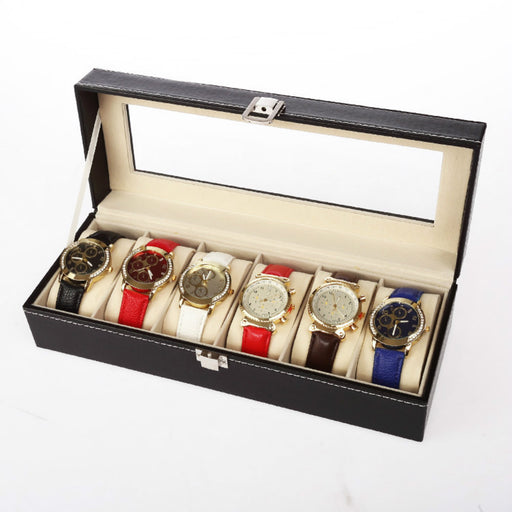 Wooden Watch Box with Premium Silvered Buckle for Increased Security - Caroeas