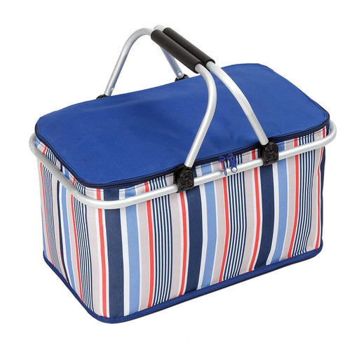 Cooler Lunch Bag Large Capacity Collapsible Design Lightweight Durable Fabric