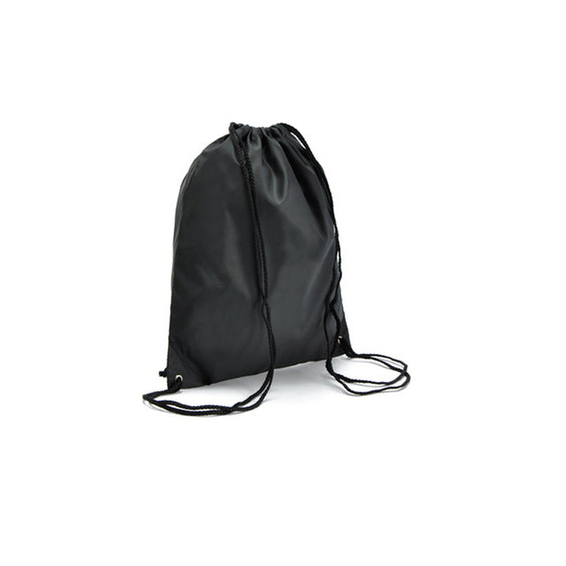 Commercial Laundry Bags Backpack Easy Carry Waterproof Material Drawstring Closure - Caroeas