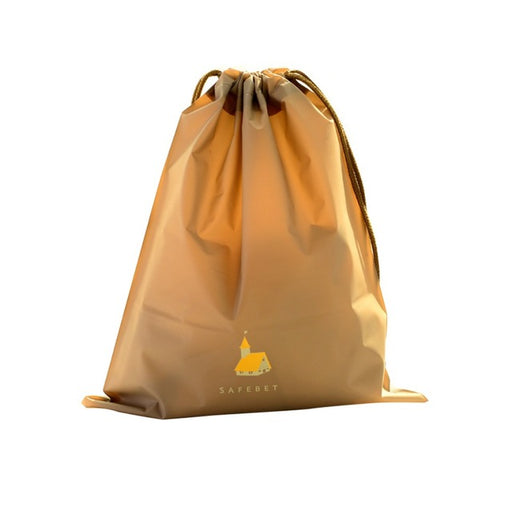 Travel Laundry Bag Lightweight Waterproof Breathable Material with Drawstring Closure - Caroeas