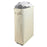 Rolling Laundry Hamper Collapsible Tall Laundry Basket with Washable Mesh Bag (Beige) - Caroeas