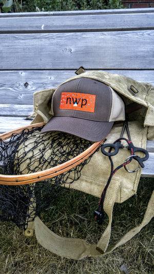 Brown trout mesh back