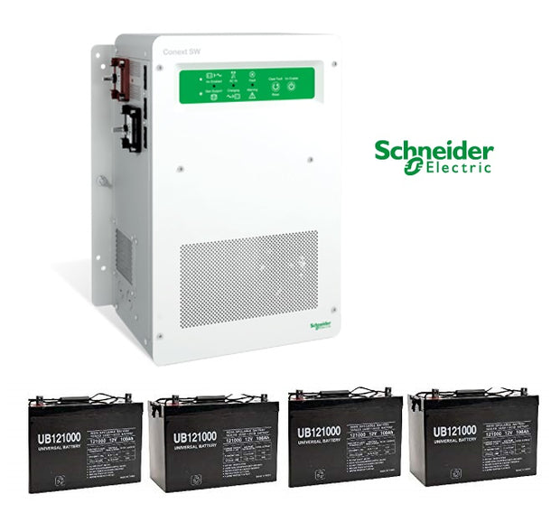 Whole House Power Backup System with Automatic Switch