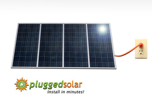 d191a1330eac ... 30 1KW Solar Grid Tie system (4 x 250 Watt Solar Panel) with Micro ...