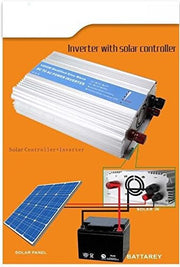 1000 Watts Solar Power Backup for power cuts or daily use, 1 KW Off-Grid Inverter powered by 160 Watt Solar Panel