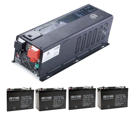 6KW Backup Power Add-on to Your Grid-tie Solar Power System. Whole House Power