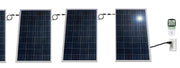 PluggedSolar 1500Watts (1.5KW) Solar Grid Tie Kit with Micro-inverter, 25Yrs Warranty, 30% Federal Tax Credit