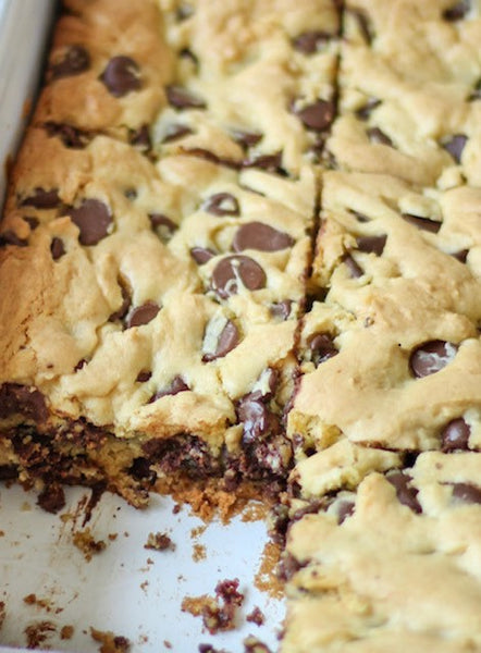 Lazy Chocolate Chip Cookies
