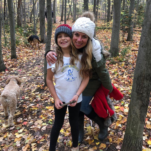 Author Jessica Ferrarotto and her daughter Madeline