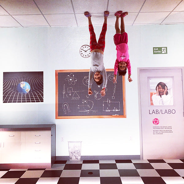 The girls on the ceiling