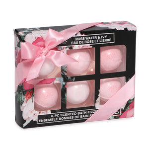 6-Piece Bath Fizzers Gift Set