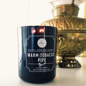Warm Tobacco Pipe Scented Candle