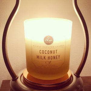 Coconut Milk Honey Scented Candle