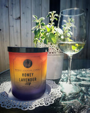 Honey Lavender Scented Candle