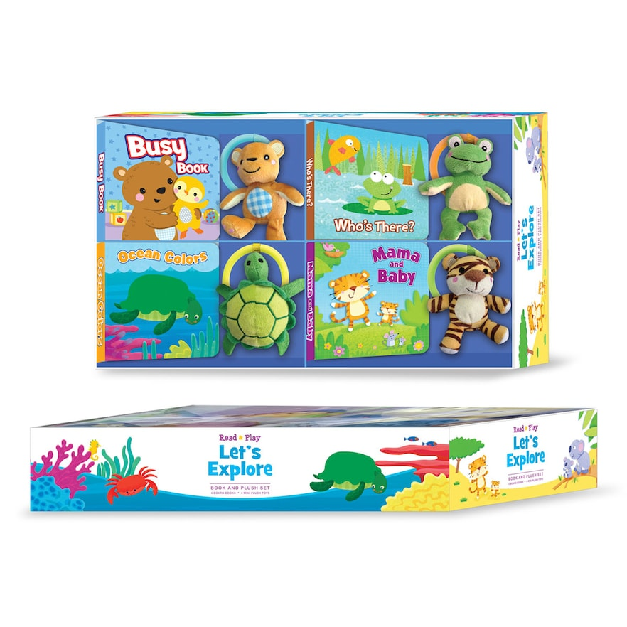Read N' Play Let's Explore 8-pc. Gift Set