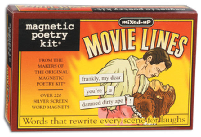 Magnetic Art Word Magnets - Mixed-Up Movie Lines
