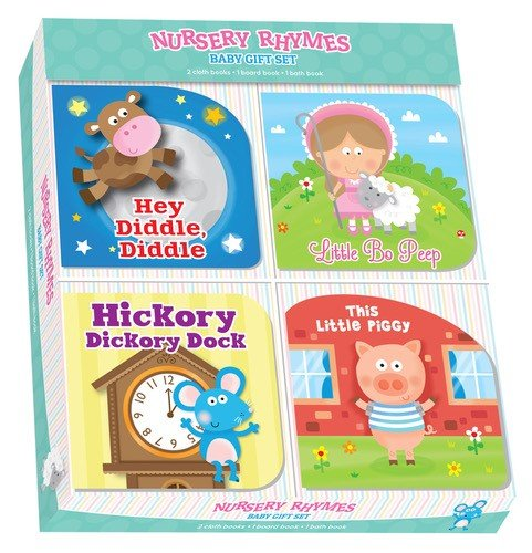 Baby Gift Set 4pk Nursery Rhymes