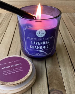 Lavender Chamomile Scented Candle