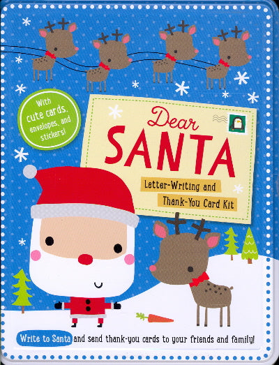 Dear Santa Letter-Writing and Thank-You Card Kit