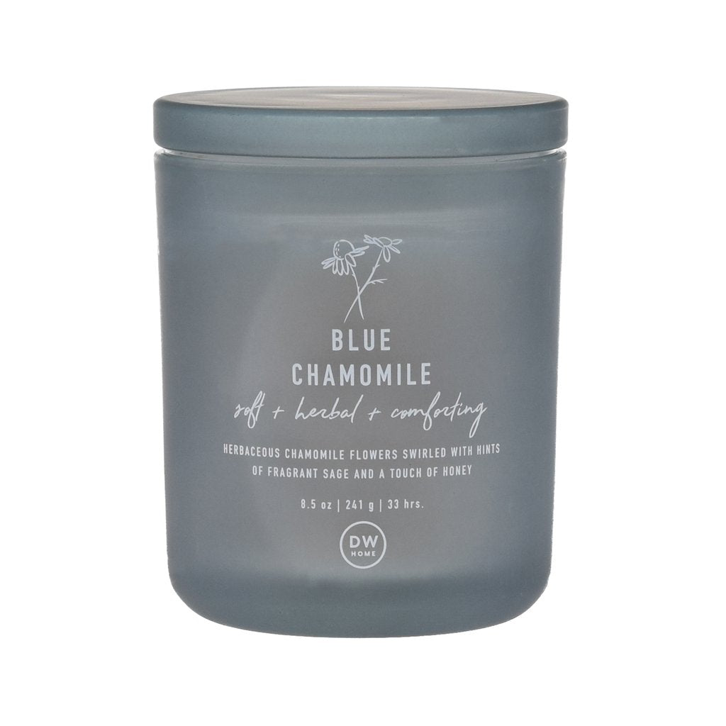 Blue Chamomile Scented Candle