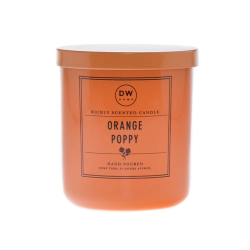 Orange Poppy Scented Candle
