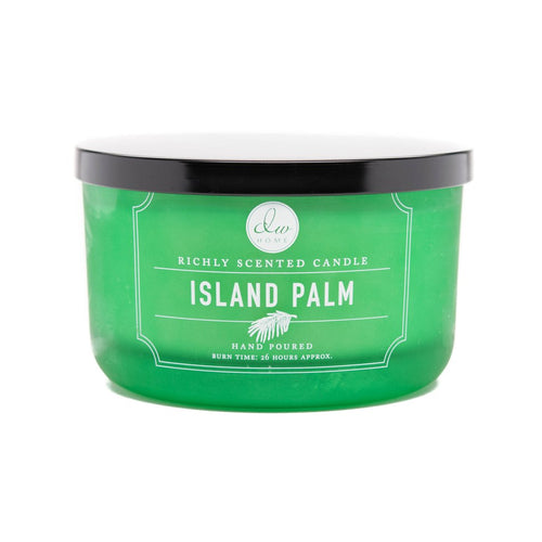 Island Palm Scented Candle