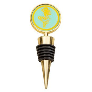 Gold Rush Mermaid Wine Stopper