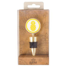 Gold Rush Pineapple Wine Stopper