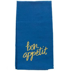 Gold Rush Bon appétit  Tea Towel