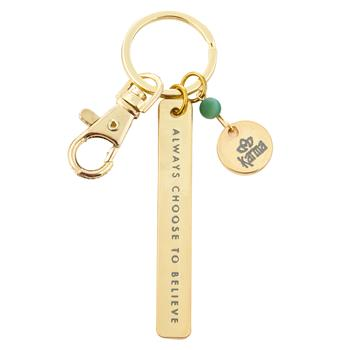 Sentiment Keychain - Believe
