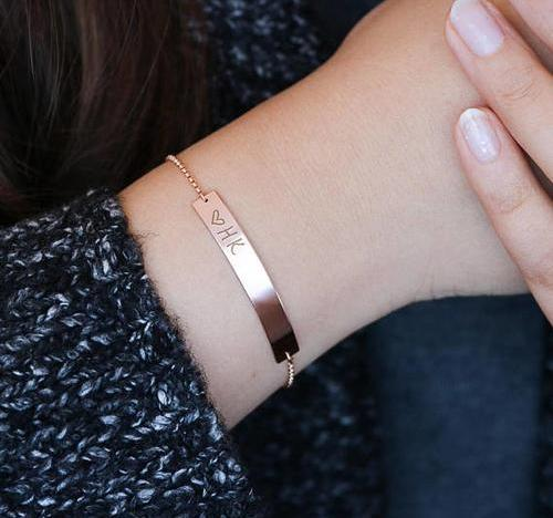 Brilliant Bar Bracelet