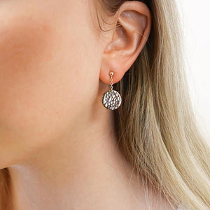 Lovely Disc Earrings