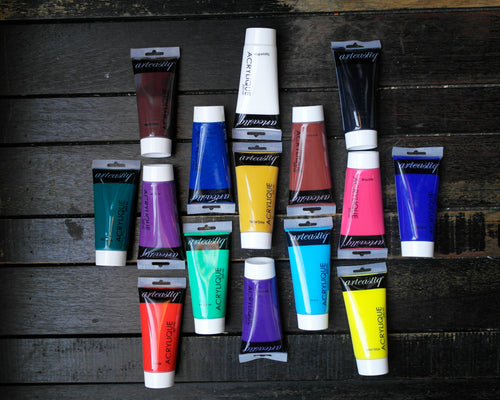 Acrylic Paint Set of 15