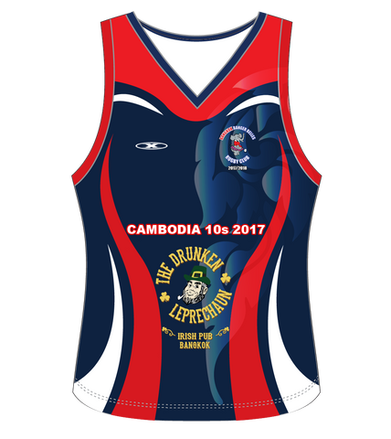 Banger Belles Sleeveless Shirt Cambodia Tour 2017