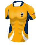 Youth BCRU Premier Rugby Jersey-Gold