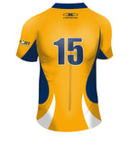 Youth BCRU Pro Rugby Jersey-Gold